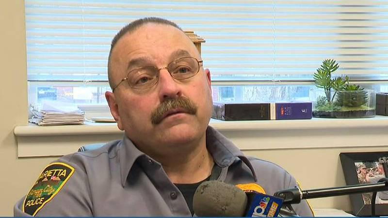 Marietta Police Chief Rodney Hupp