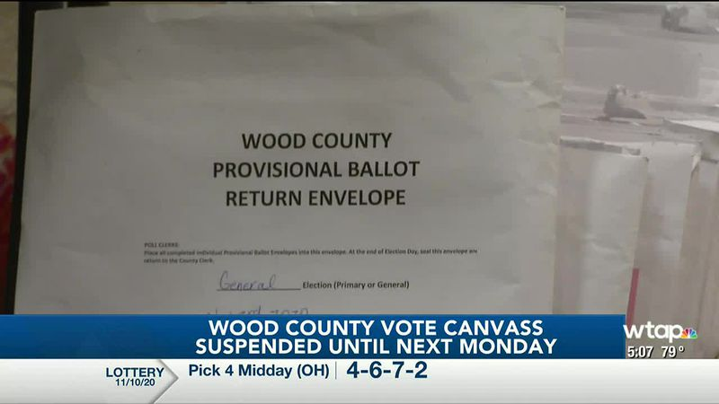 WTAP News @ 5 - Wood County vote canvass suspended until next Monday