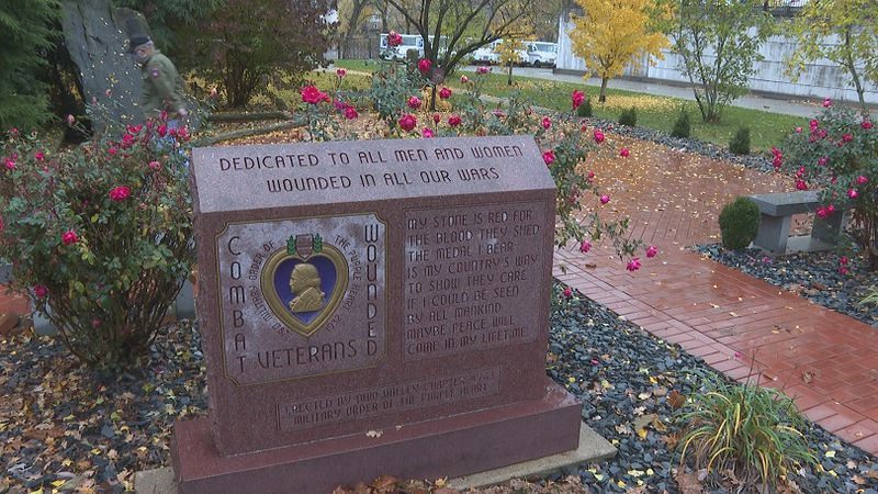 A section of Armory Square is dedicated to past and present members of the military