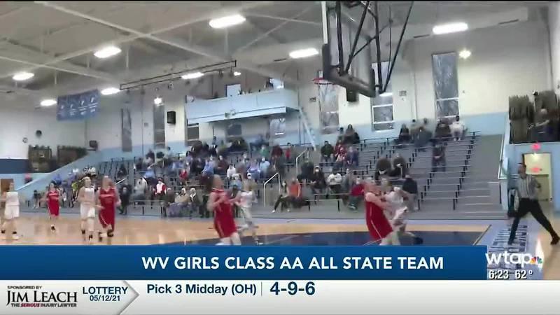 WTAP News @ 6 - W.Va. Class AA all state team