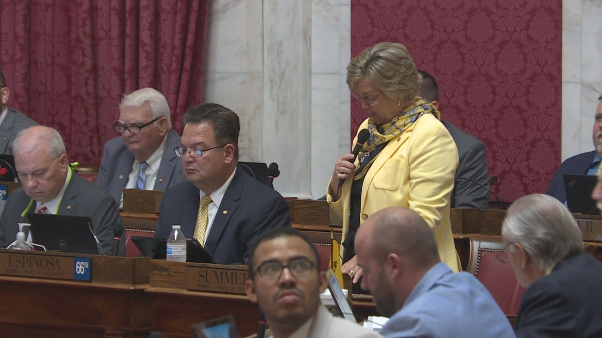 Del. Amy Summers (R-Taylor) is the lead sponsor of the COVID-19 vaccine mandate exemption bill.