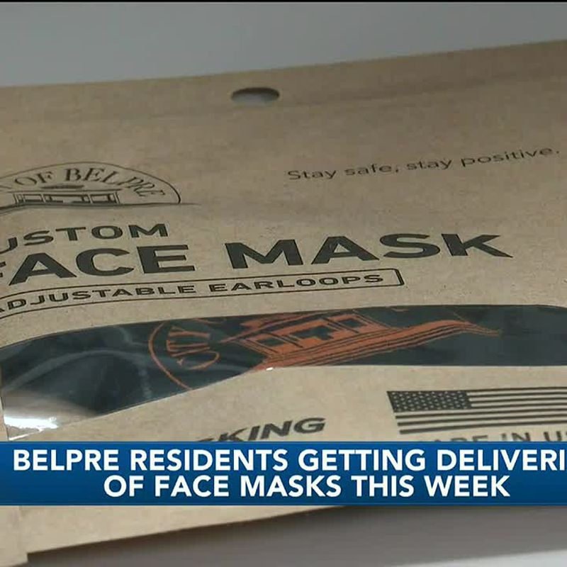 WTAP News @ 5 - Belpre residents getting deliveries of face masks this week