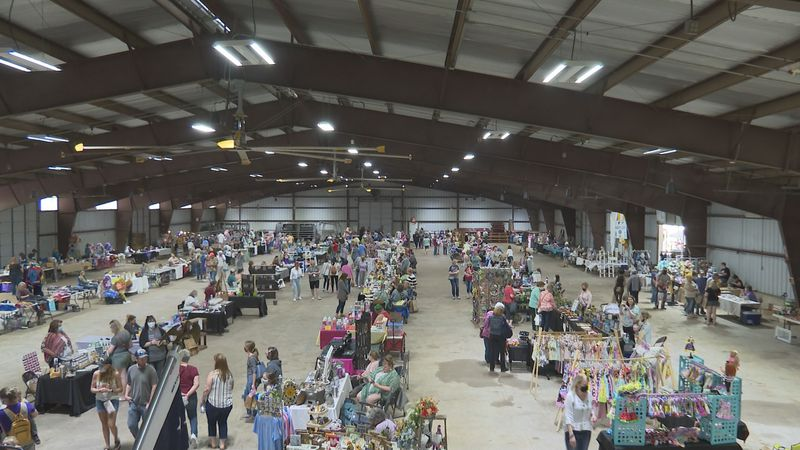 Craft and Vendor Show held at Washington County Fairgrounds