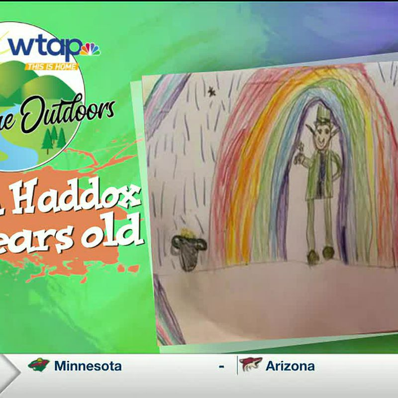 WTAP News @ 6 - Sketch the Outdoors winner Corah Haddox