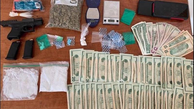 Items retrieved at Pomeroy residence