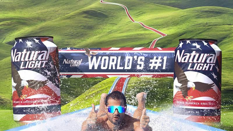 Natural Light Beer to attempt world's longest slip & slide at Canaan Valley Resort