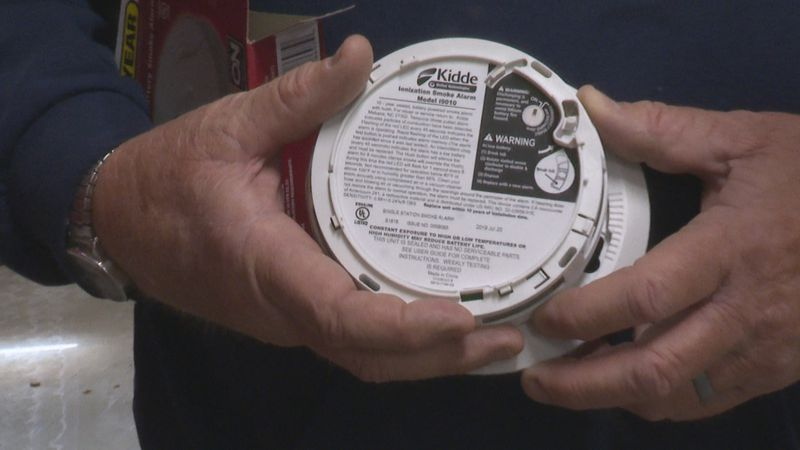 If your smoke detector is 10 years of age or older, you need to replace it.