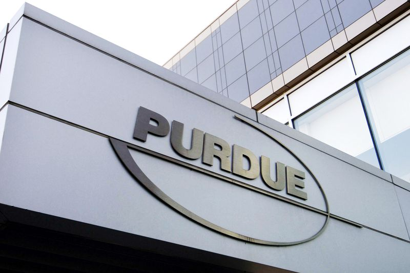 Guilty pleas were entered by Purdue board chairperson Steve Miller on behalf of the company.