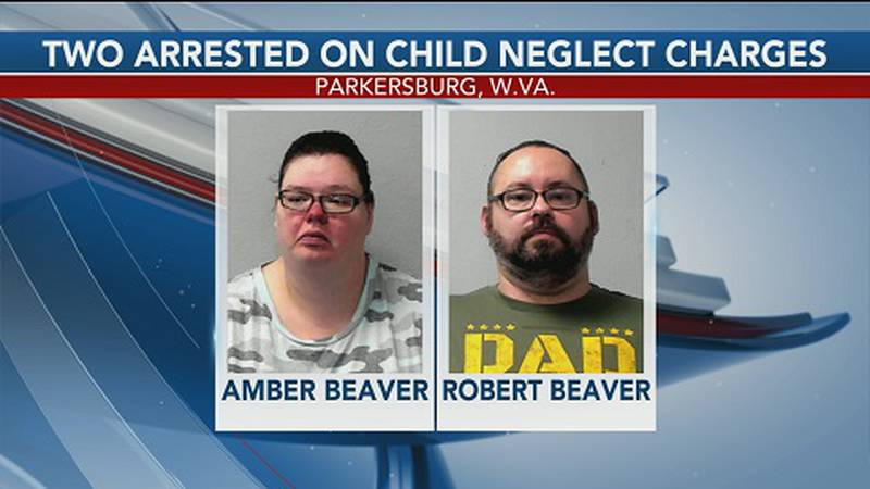 Two arrested on child neglect charges