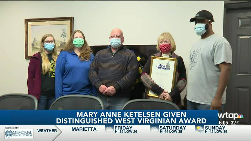 WTAP News @ 6 - Mary Anne Ketelsen given Distinguished West Virginian Award