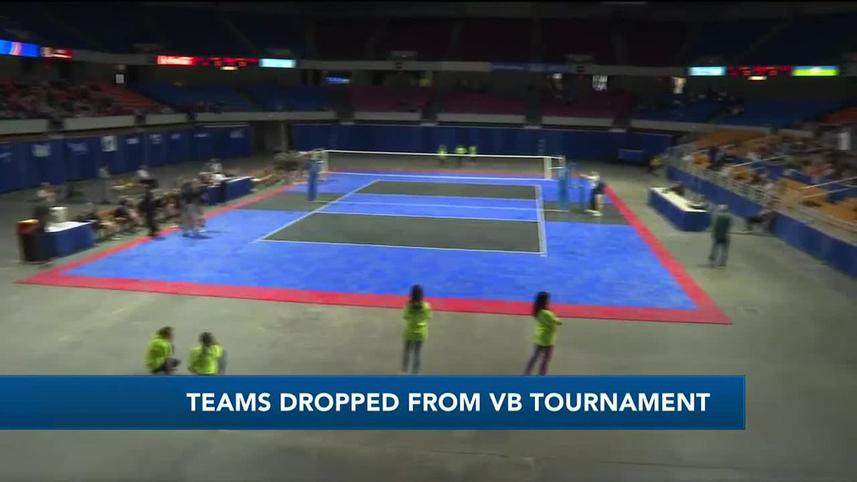 WTAP News @ 6 - Teams dropped from volleyball tournament