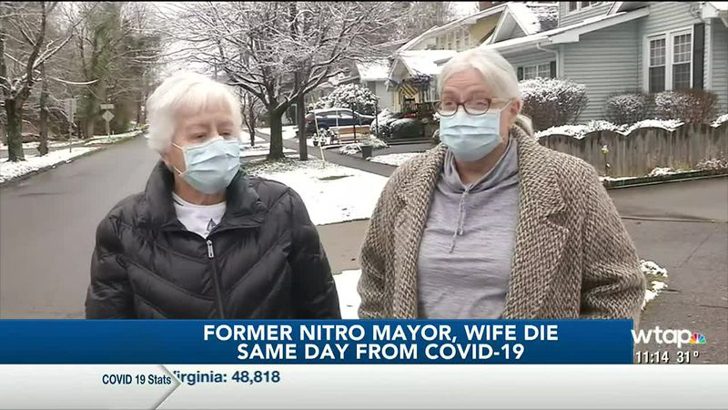 WTAP News @ 11 - Former Nitro mayor, wife die same day from COVID-19