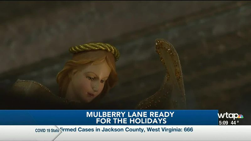 WTAP News @ 5 - Mulberry Lane ready for the holidays