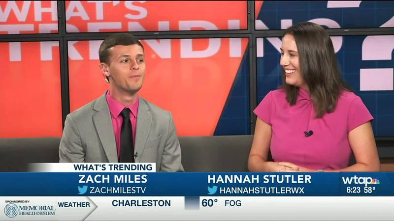 Zach Miles and Hannah Stutler