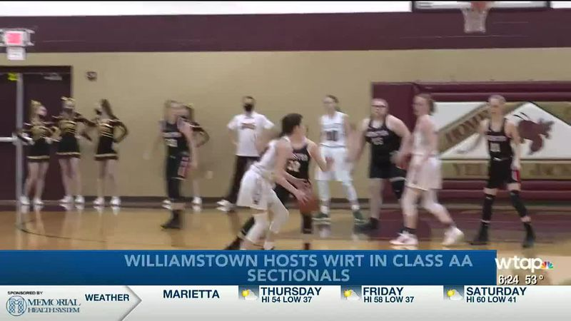 WTAP News @ 6 - Williamstown hosts Wirt in Class AA sectionals