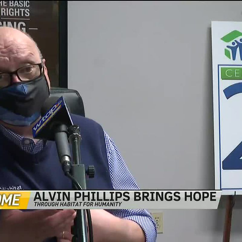 WTAP News @ 6 - This is Home: Alvin Phillips brings hope through Habitat for Humanity