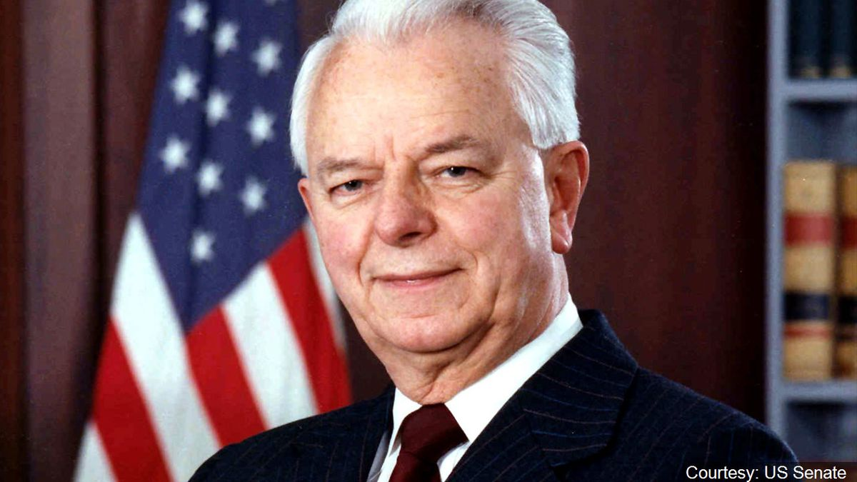Senator Robert Byrd, photo credit: US Senate