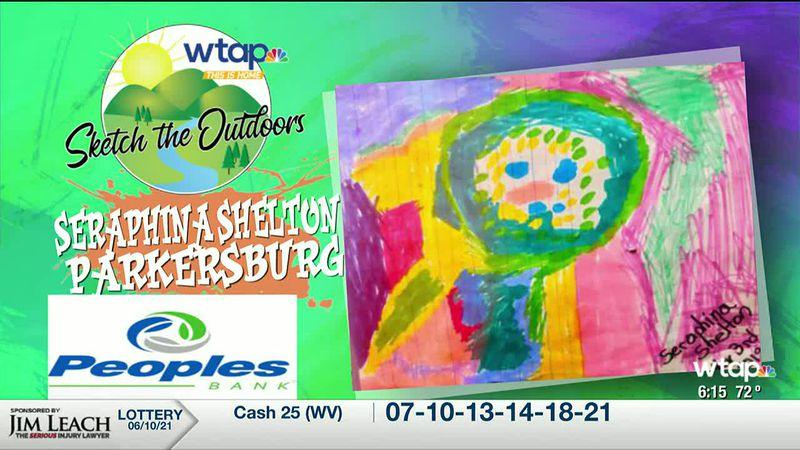 WTAP News @ 6 - Sketch the Outdoors winner Seraphina Shelton