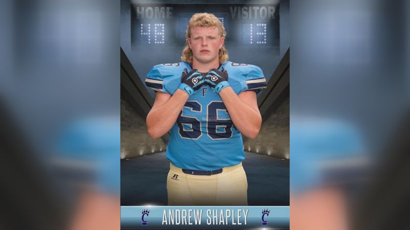 With three years on varsity under his belt, Andrew's looking to college football.