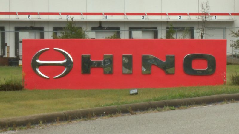 Hino motors is halting production until at least September of 2021