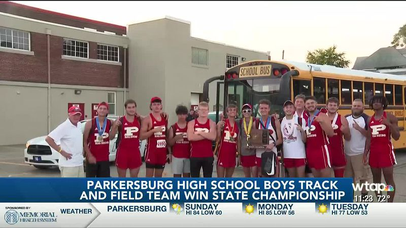 Parkersburg Boys Track and Field Team win Class AAA State Title