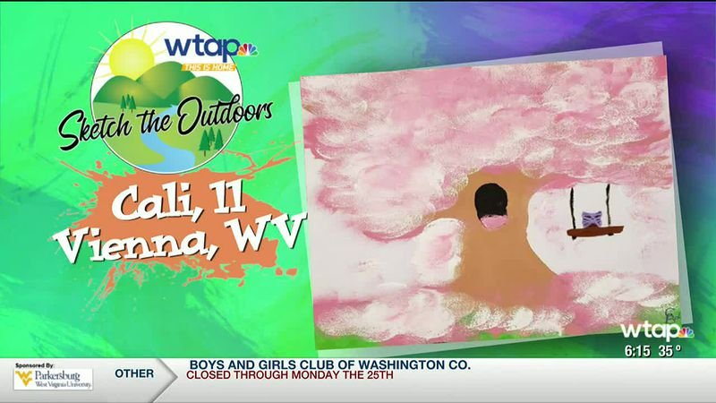 WTAP News @ 6 - Sketch the Outdoors winner Cali